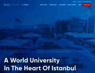 international.bahcesehir.edu.tr screenshot