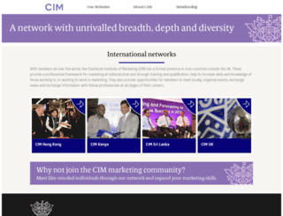international.cim.co.uk screenshot