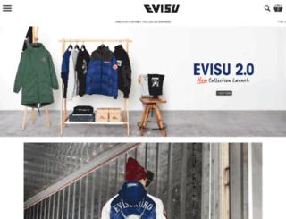 international.evisu.com screenshot