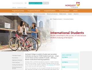 international.norquest.ca screenshot