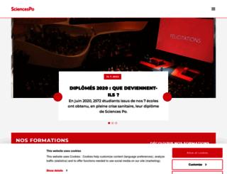 international.sciences-po.fr screenshot
