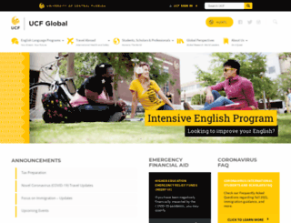 international.ucf.edu screenshot
