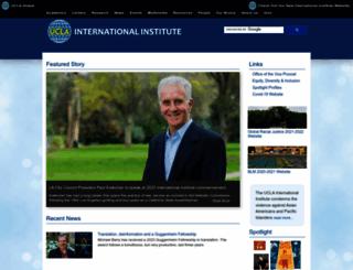 international.ucla.edu screenshot