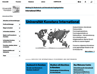 international.uni-konstanz.de screenshot