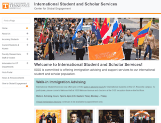 international.utk.edu screenshot