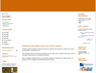 international.verelec.net screenshot
