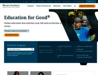 international.waldenuniversity.com screenshot