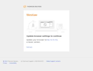 international.westlaw.com screenshot