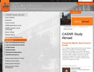 internationalagprograms.okstate.edu screenshot