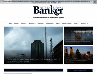 internationalbanker.com screenshot