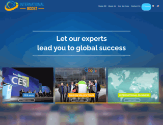 internationalboost.com screenshot