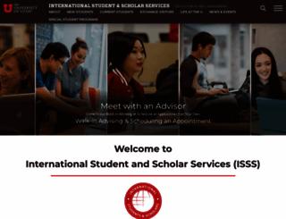 internationalcenter.utah.edu screenshot