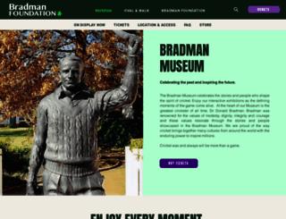 internationalcrickethall.com screenshot