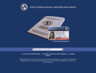 internationaldriverdocument.com screenshot