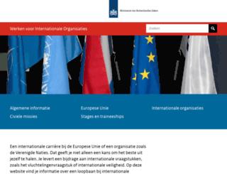 internationalefuncties.nl screenshot