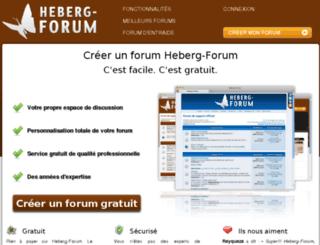 internationalelvispresleyfever.heberg-forum.net screenshot