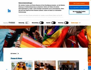 internationaler-bund.de screenshot