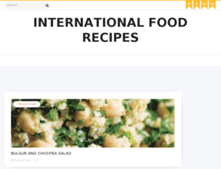 internationalfood4u.com screenshot