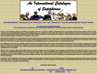 internationalhero.co.uk screenshot