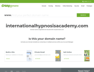 internationalhypnosisacademy.com screenshot