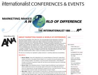 internationalistconferences.com screenshot