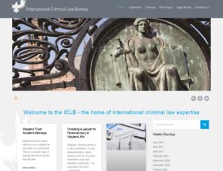 internationallawbureau.com screenshot