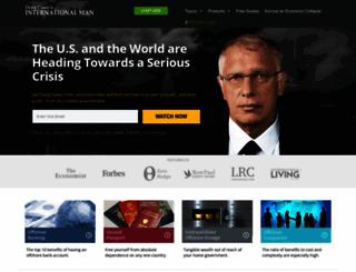 internationalman.com screenshot