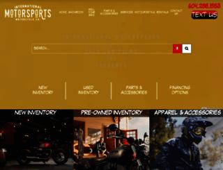 internationalmotorsports.com screenshot