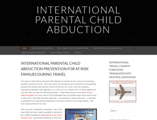 internationalparentalchildabductions.wordpress.com screenshot
