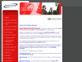 internationalpassiveincome.com screenshot