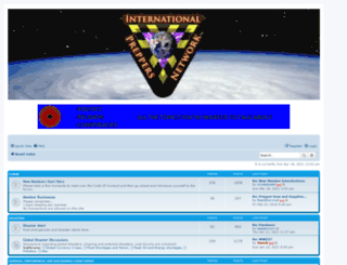 internationalpreppersnetwork.net screenshot