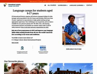 internationalprojects.com screenshot