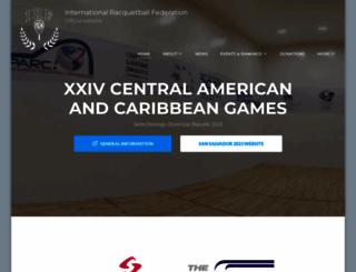 internationalracquetball.com screenshot