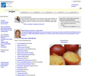 internationalrecipes.net screenshot