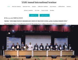 internationalseminar.org screenshot