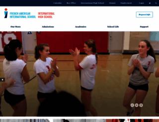 internationalsf.org screenshot