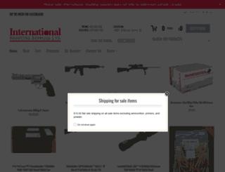 internationalshootingsupplies.com screenshot