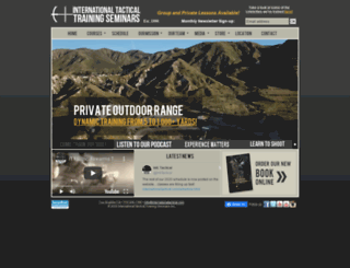 internationaltactical.com screenshot
