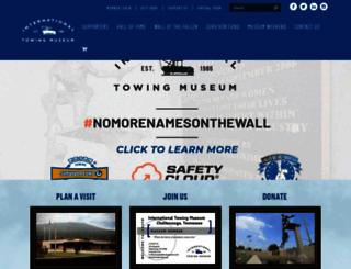 internationaltowingmuseum.org screenshot