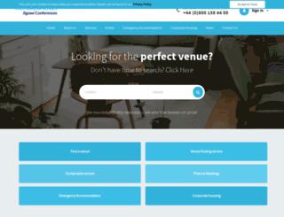 internationalvenues.com screenshot