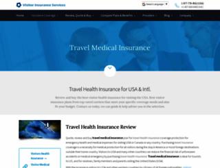 internationalvisitorinsurance.com screenshot