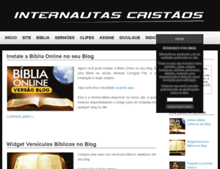 internautascristaos.blogspot.com screenshot
