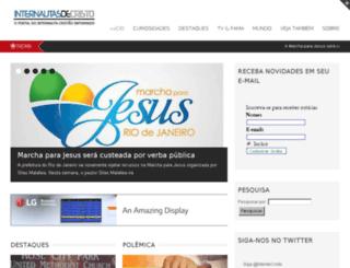 internautasdecristo.com.br screenshot
