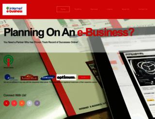 internet-e-business.com screenshot