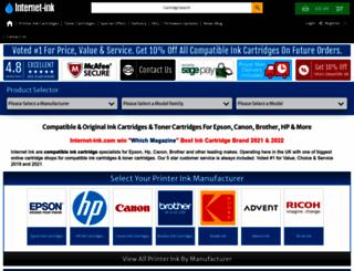 internet-ink.co.uk screenshot
