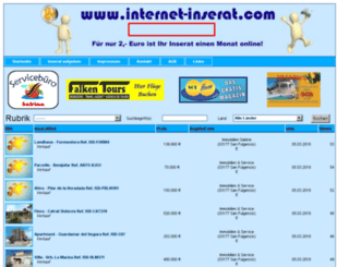 internet-inserat.de screenshot