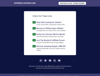 internet-listings.com screenshot