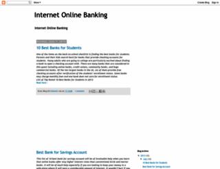 internet-online-banking.blogspot.com screenshot