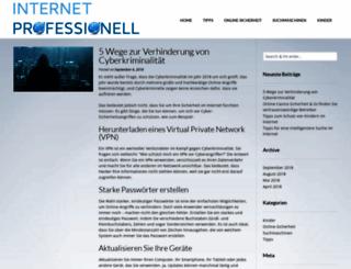 internet-pro.de screenshot