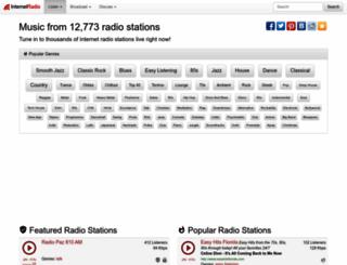 internet-radio.org.uk screenshot